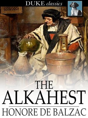 cover image of The Alkahest