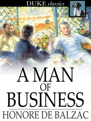 cover image of A Man of Business