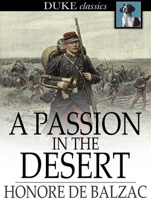 cover image of A Passion in the Desert