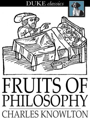 cover image of Fruits of Philosophy