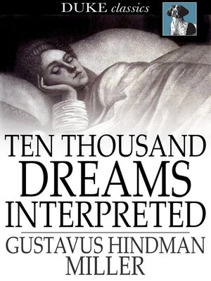 cover image of Ten Thousand Dreams Interpreted