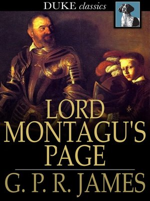 cover image of Lord Montagu's Page