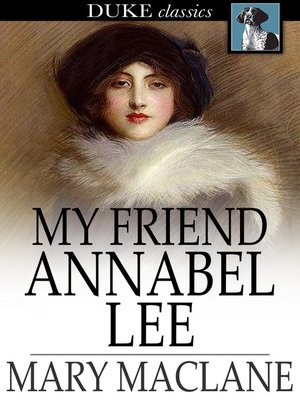 cover image of My Friend Annabel Lee
