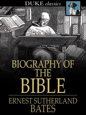 cover image of Biography of the Bible