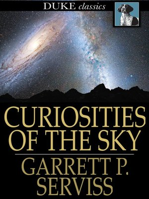 cover image of Curiosities of the Sky