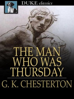 cover image of The Man Who Was Thursday