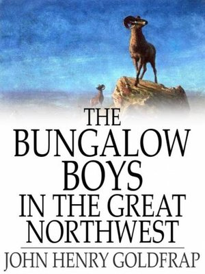 cover image of The Bungalow Boys in the Great Northwest