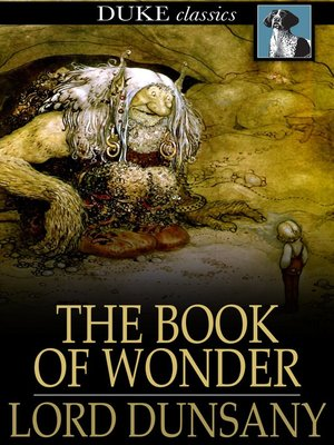 cover image of The Book of Wonder