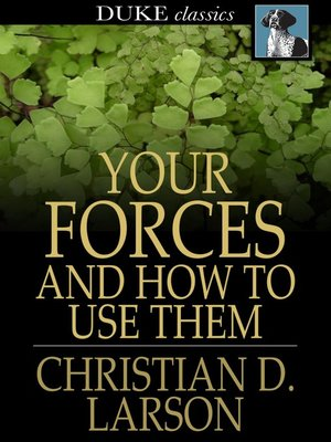 cover image of Your Forces and How to Use Them