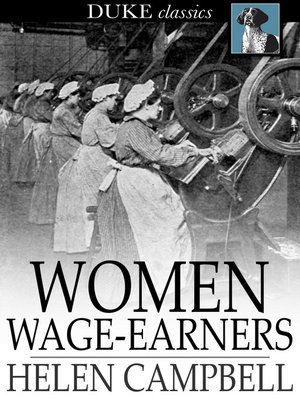 cover image of Women Wage-Earners