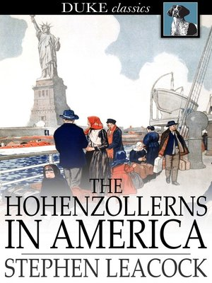 cover image of The Hohenzollerns in America