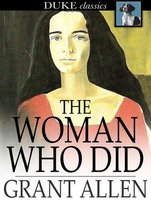 cover image of The Woman Who Did
