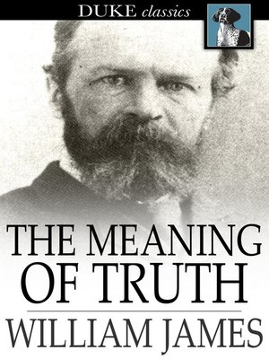 cover image of The Meaning of Truth