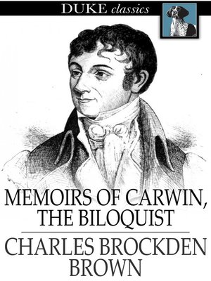 cover image of Memoirs of Carwin, the Biloquist