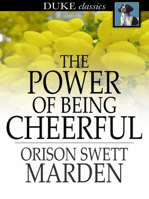 cover image of The Power of Being Cheerful