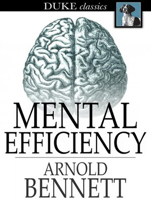 cover image of Mental Efficiency