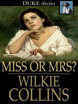 cover image of Miss or Mrs?