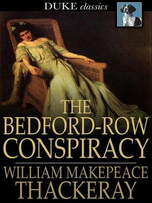 cover image of The Bedford-Row Conspiracy