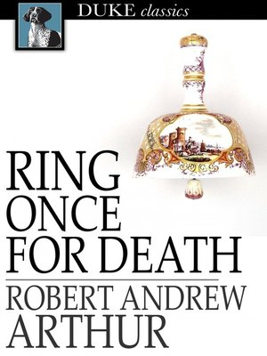 cover image of Ring Once for Death