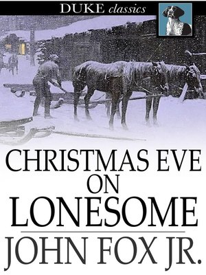 cover image of Christmas Eve on Lonesome