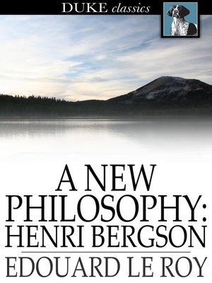 cover image of A New Philosophy