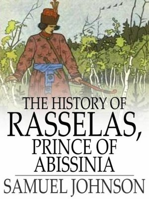 cover image of The History of Rasselas, Prince of Abissinia