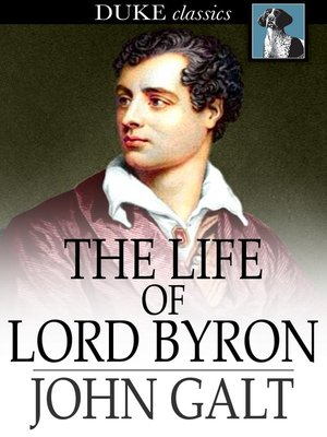 cover image of The Life of Lord Byron