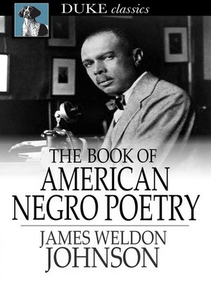 cover image of The Book of American Negro Poetry