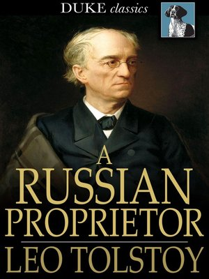 cover image of A Russian Proprietor