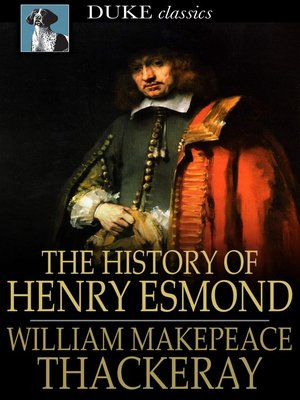 cover image of The History of Henry Esmond