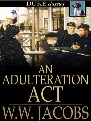 cover image of An Adulteration Act