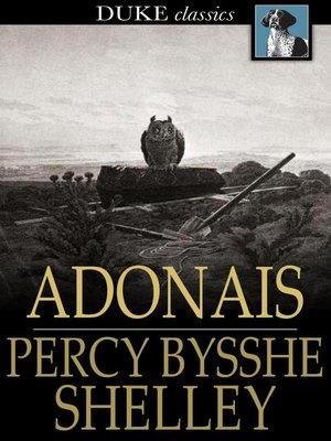 cover image of Adonais