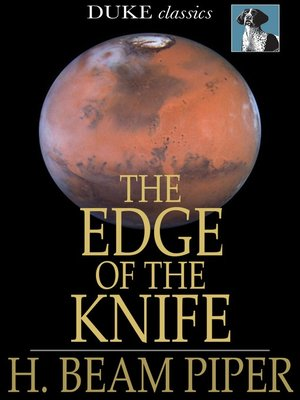 cover image of The Edge of the Knife