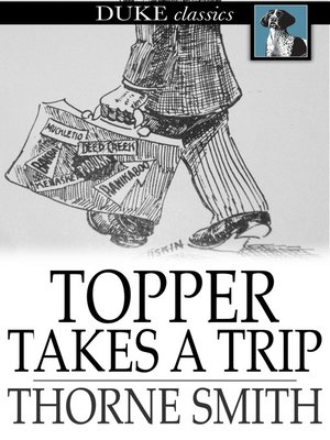 cover image of Topper Takes a Trip