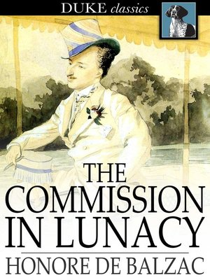 cover image of The Commission in Lunacy