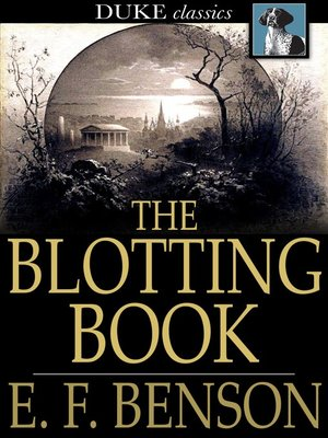 cover image of The Blotting Book