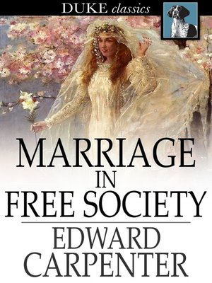 cover image of Marriage in Free Society