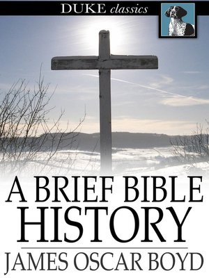 cover image of A Brief Bible History