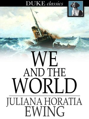 cover image of We and the World