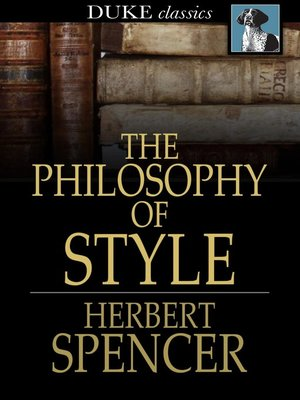 cover image of The Philosophy of Style