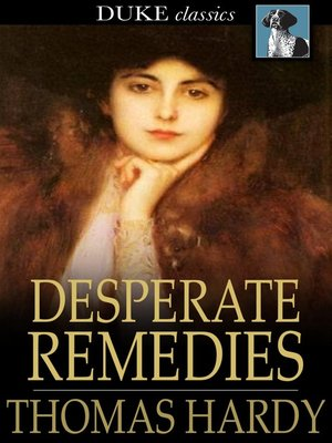 cover image of Desperate Remedies
