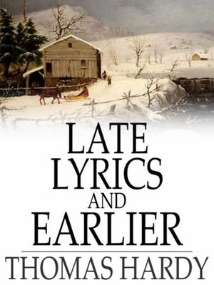 cover image of Late Lyrics and Earlier