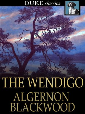 cover image of The Wendigo
