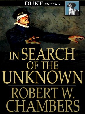 cover image of In Search of the Unknown