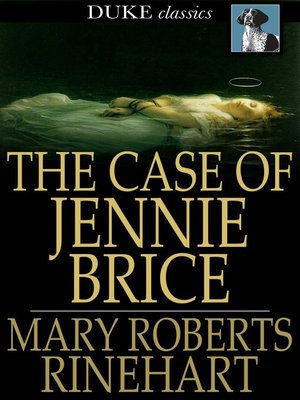 cover image of The Case of Jennie Brice