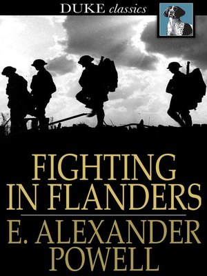 cover image of Fighting In Flanders