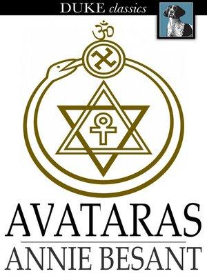 cover image of Avataras