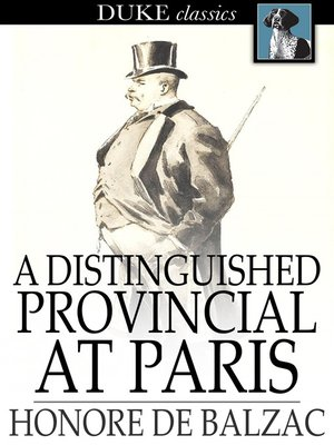 cover image of A Distinguished Provincial at Paris