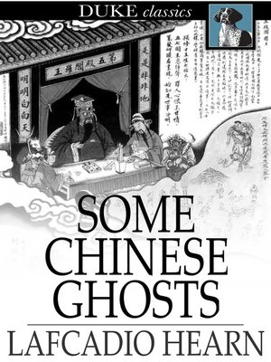 cover image of Some Chinese Ghosts