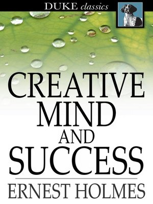 cover image of Creative Mind And Success